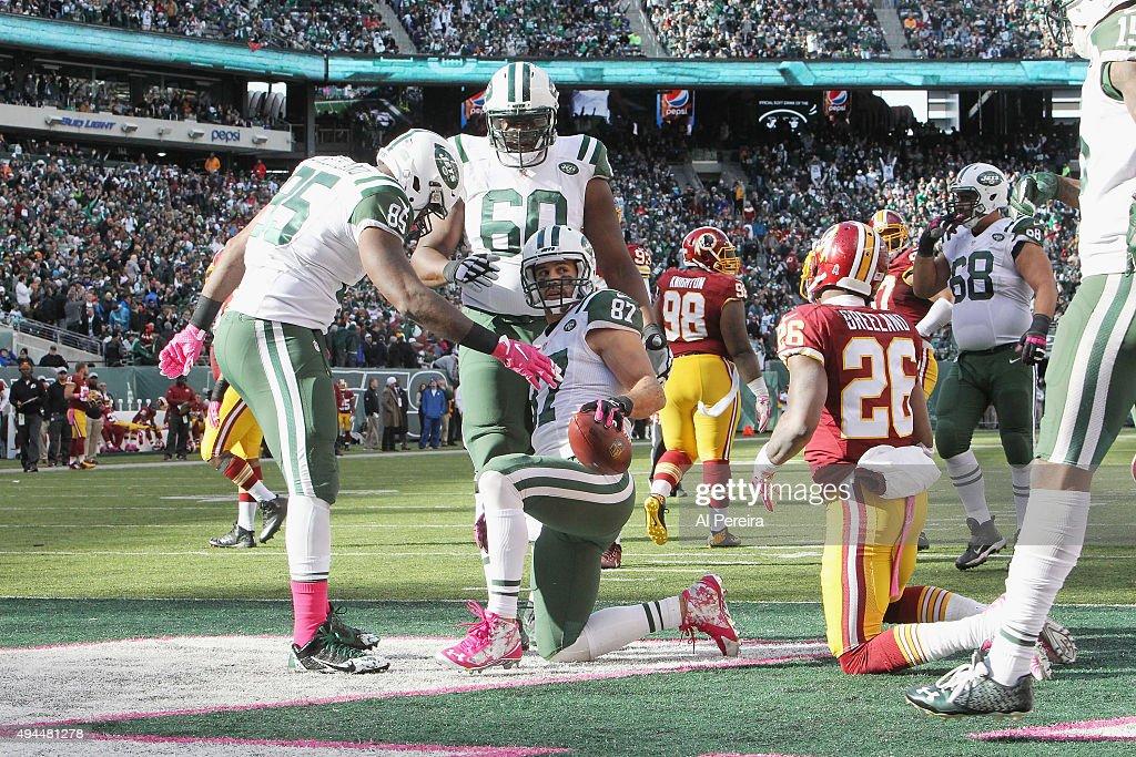 Washington Redskins v New York Jets : News Photo