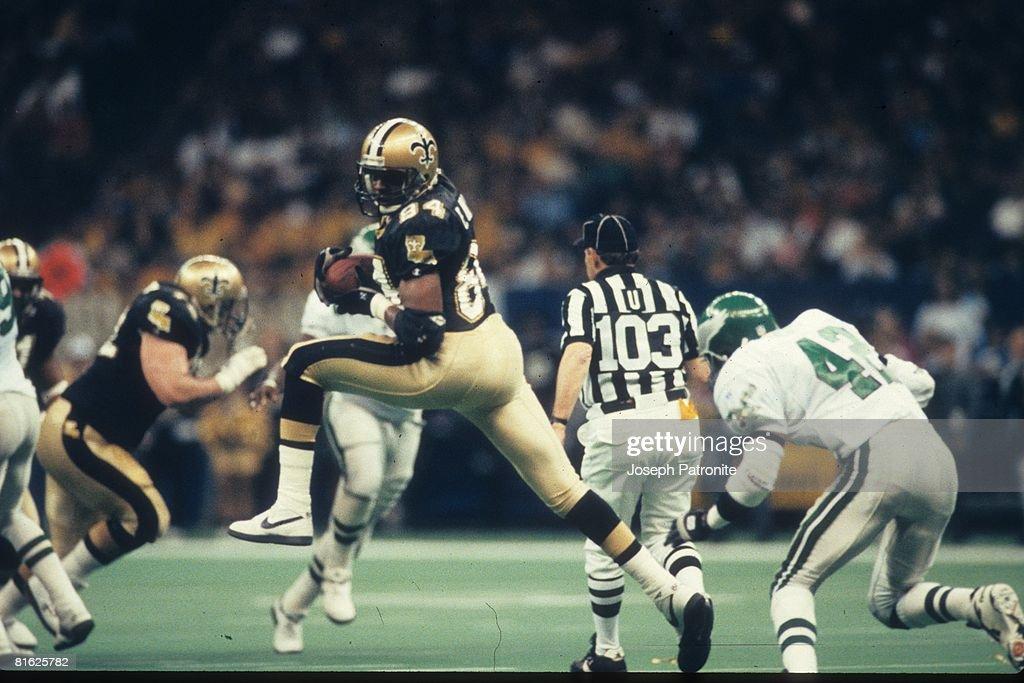 1992 NFC Wildcard Game - Philadelphia Eagles v New Orleans Saints : News Photo