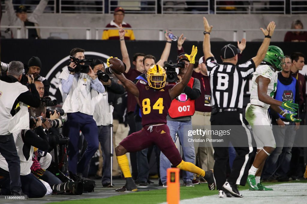 Oregon v Arizona State : News Photo