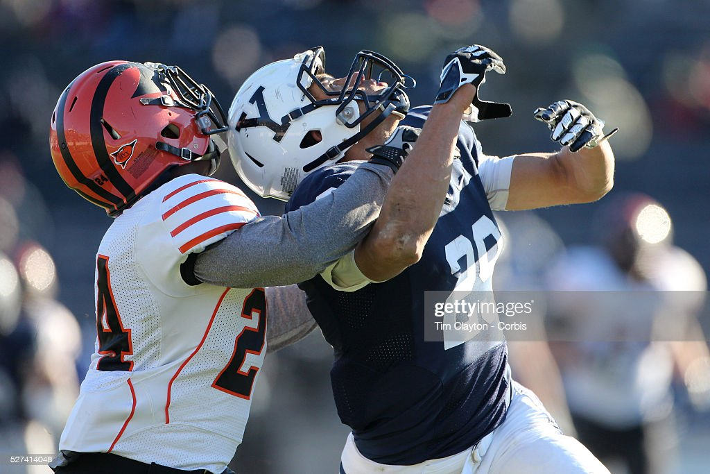 Yale Vs Princeton, Ivy League College Football at Yale Bowl, New Haven, Connecticut. : News Photo
