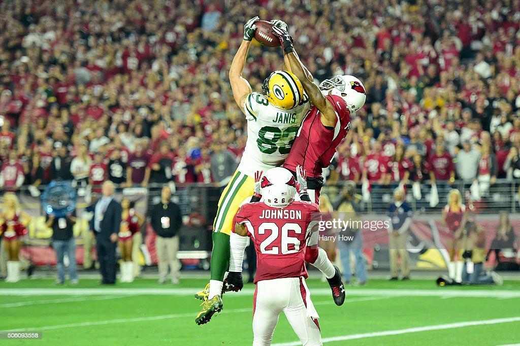 Divisional Round - Green Bay Packers v Arizona Cardinals : News Photo