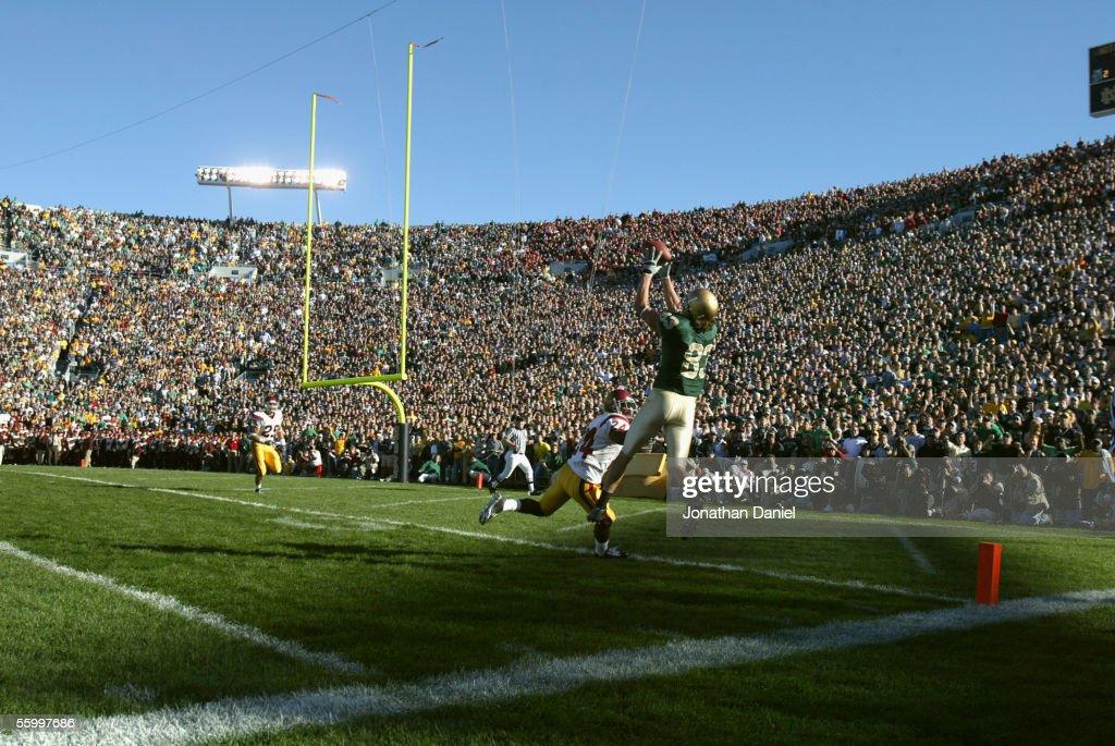 USC at Notre Dame : ニュース写真