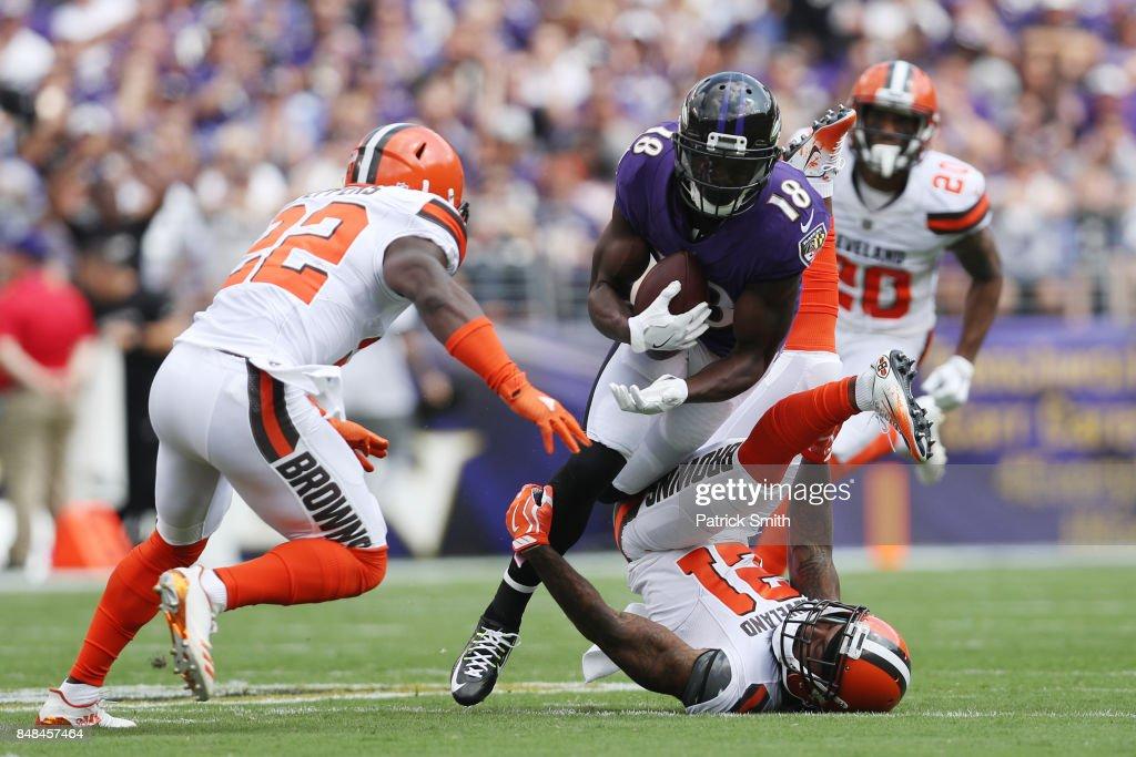 Cleveland Browns v Baltimore Ravens : News Photo