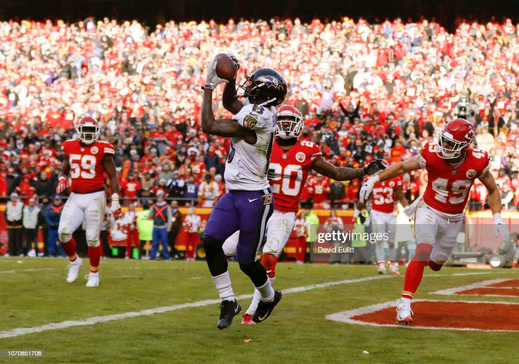 Baltimore Ravens v Kansas City Chiefs : News Photo