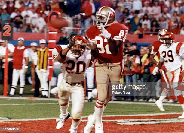 Wide receiver John Taylor of the San Francisco 49ers catches the gamewinning 10yard touchdown reception in the final moments of the 49ers 2016...