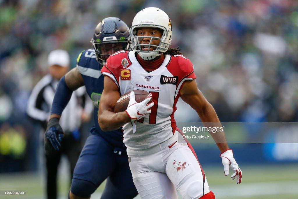 Arizona Cardinals vSeattle Seahawks : News Photo