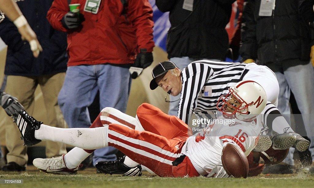 2006 Dr Pepper Big 12 Championship: Nebraska v Oklahoma : News Photo