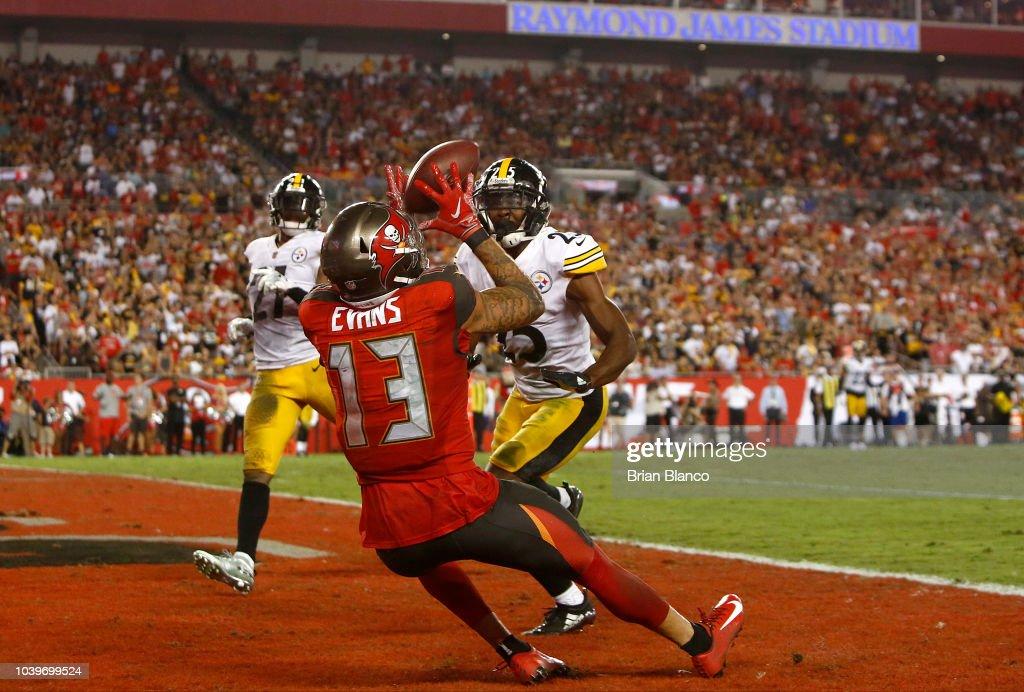 Pittsburgh Steelers v Tampa Bay Buccaneers : Fotografia de notícias
