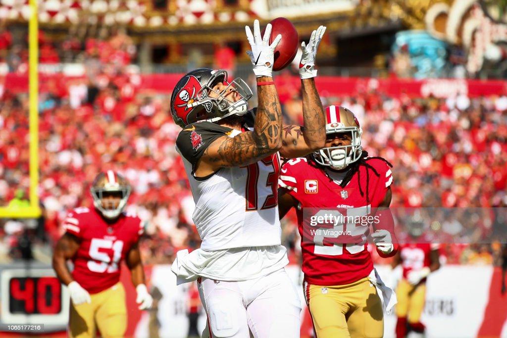 San Francisco 49ers v Tampa Bay Buccaneers : Foto jornalística