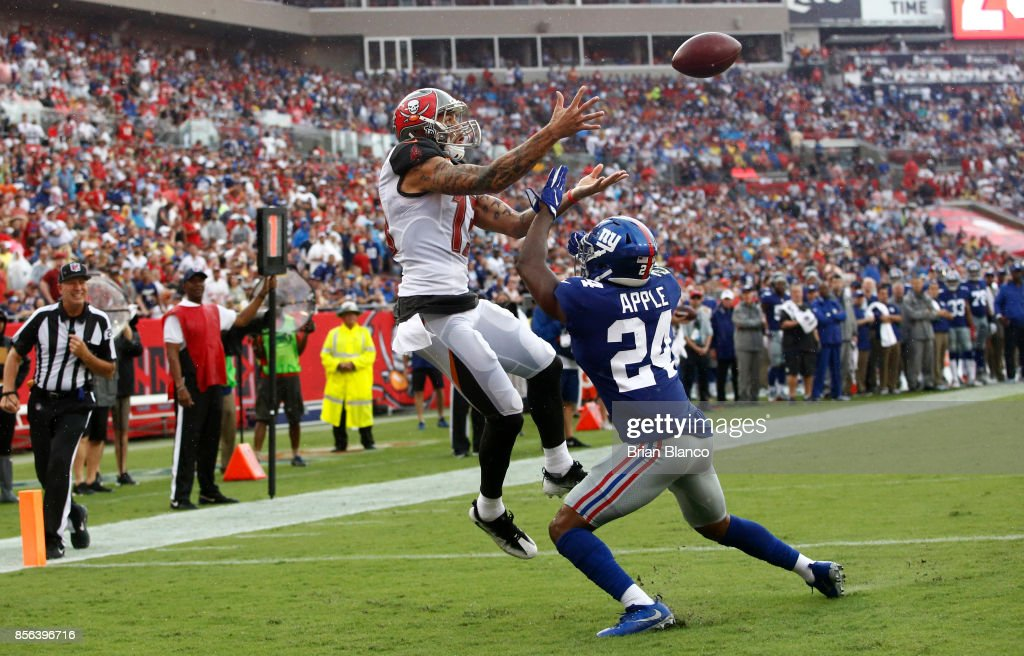 New York Giants v Tampa Bay Buccaneers