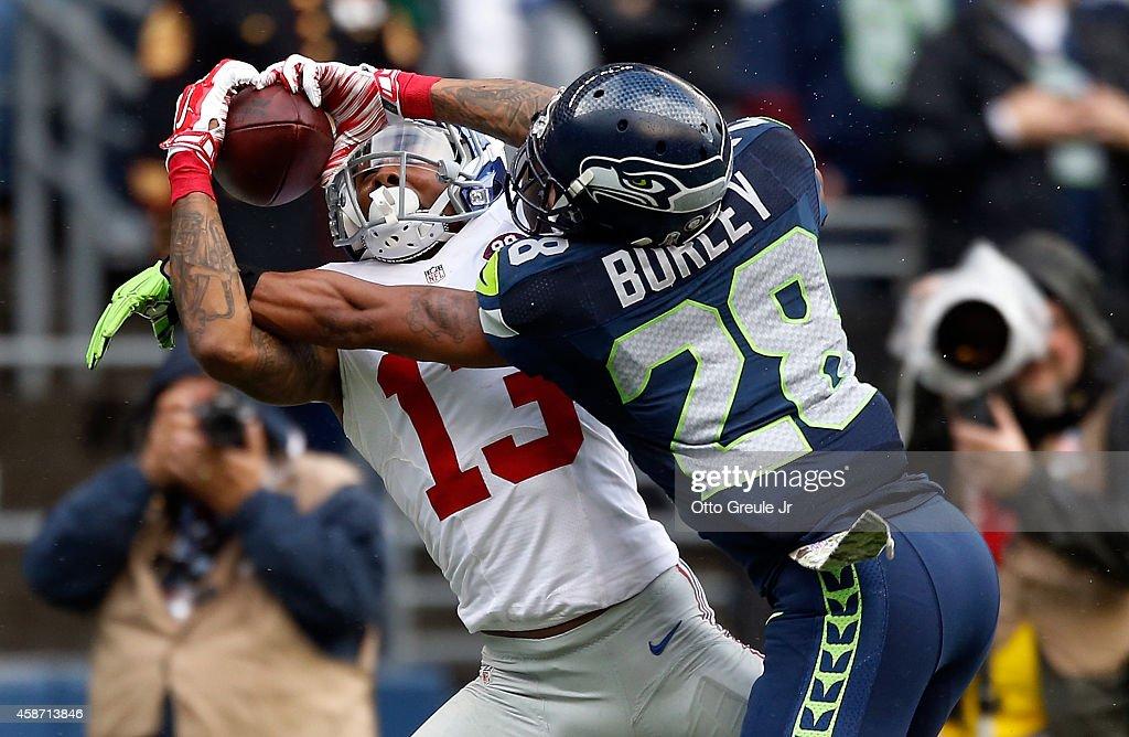 New York Giants v Seattle Seahawks : News Photo