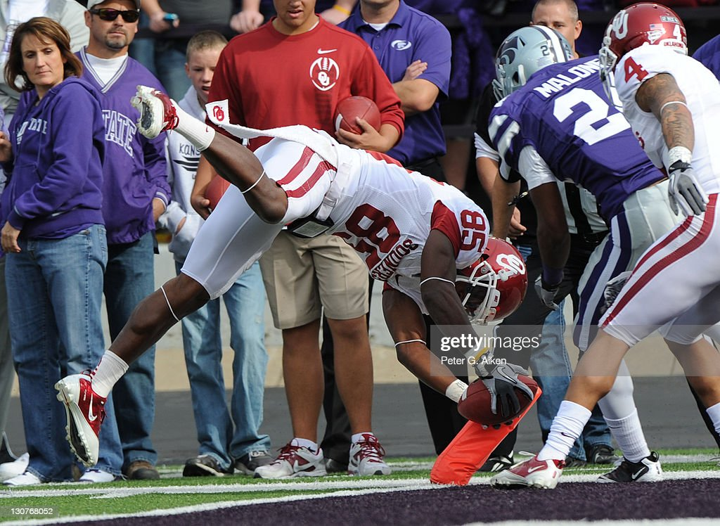 Oklahoma v Kansas State : News Photo