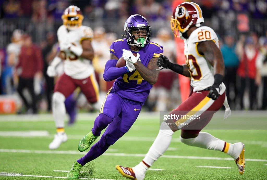 Washington Redskins vMinnesota Vikings : News Photo