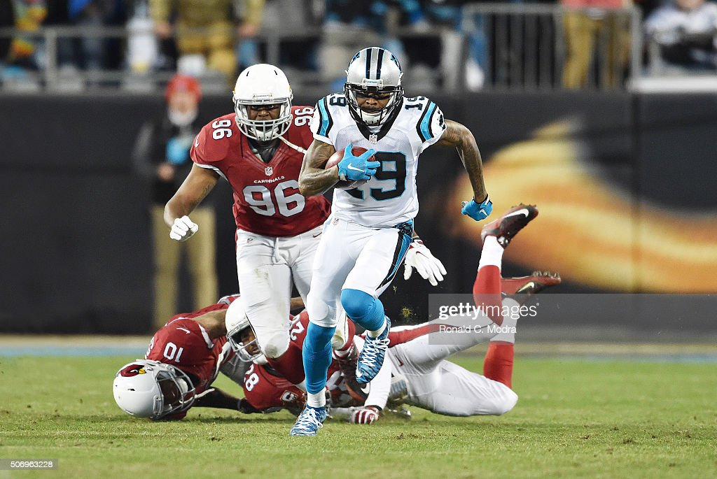 NFC Championship - Arizona Cardinals v Carolins Panthers : News Photo