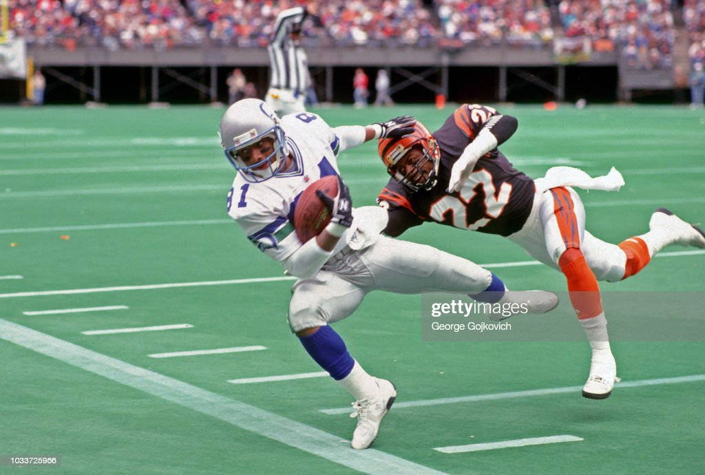 Wide Receiver Tommy Kane Of The Seattle Seahawks Is Pursued By