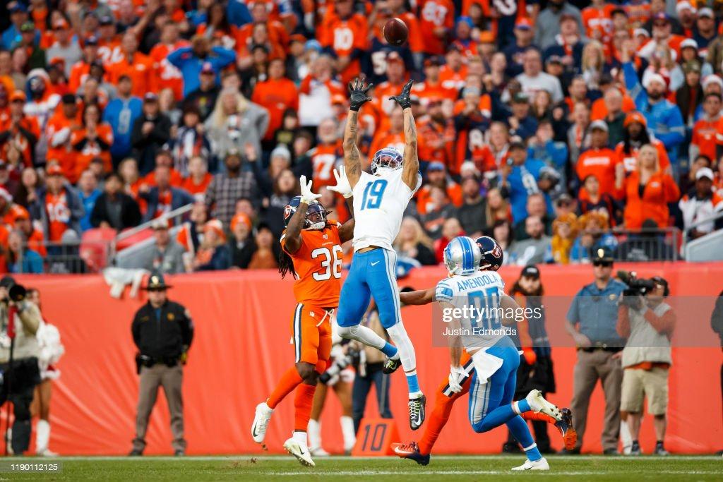 Detroit Lions v Denver Broncos : News Photo