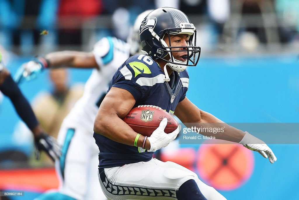Divisional Round - Seattle Seahawks v Carolina Panthers : News Photo