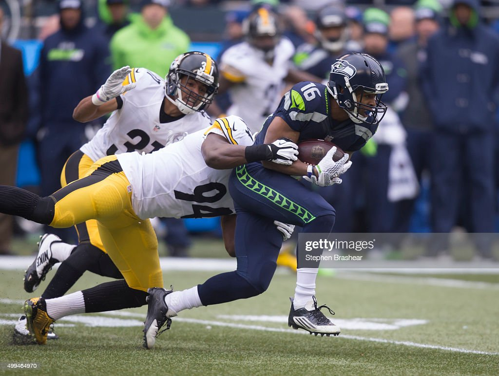Pittsburgh Steelers v Seattle Seahawks : News Photo