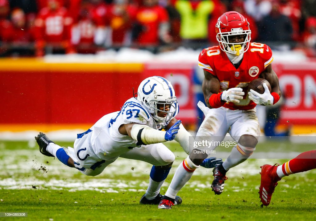 Divisional Round - Indianapolis Colts v Kansas City Chiefs : News Photo