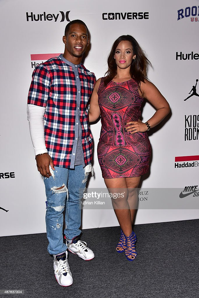 Nfl Wide Receiver Victor Cruz And Actress Dascha Polanco Attend The News Photo Getty Images