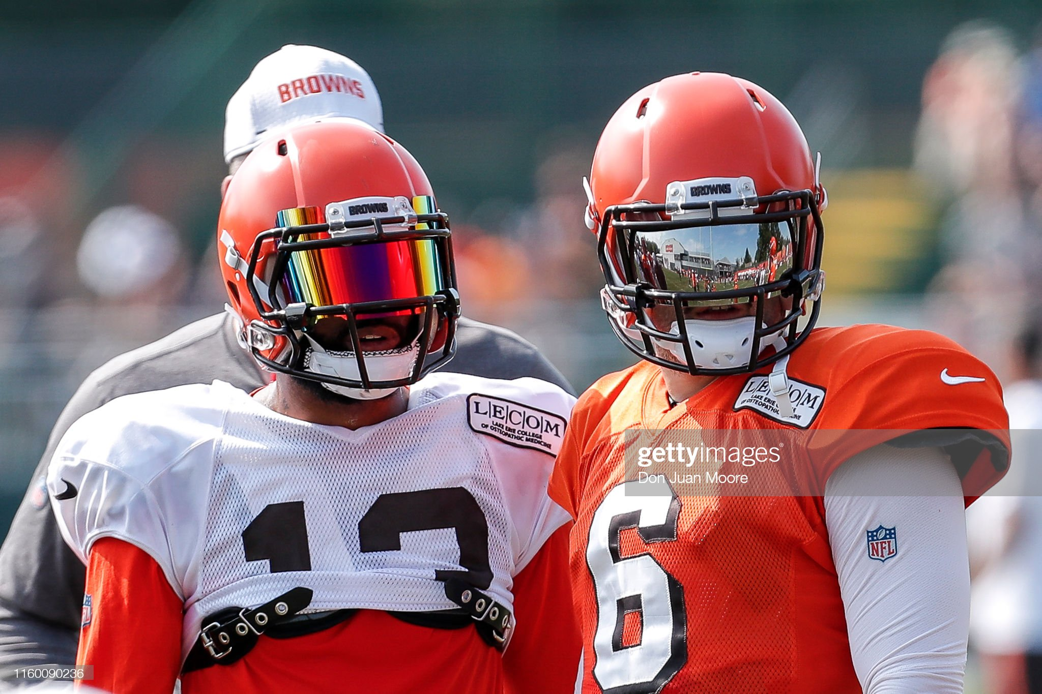 Cleveland Browns Training Camp : News Photo