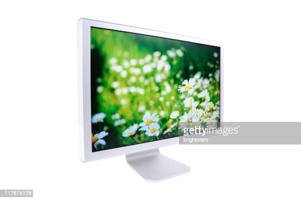 wide screen monitor - screen saver stock photos and pictures