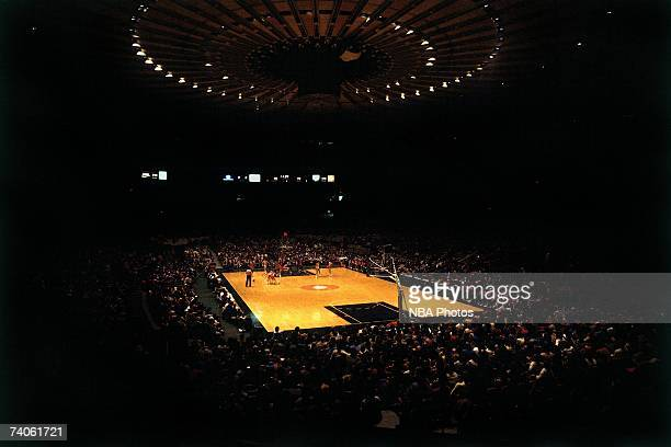 A wide shot of Madison Square Garden during a game played in New York New York NOTE TO USER User expressly acknowledges that by downloading and or...
