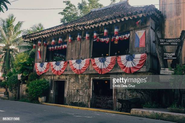 Wide shot of Yap-Sandiego Ancestral house