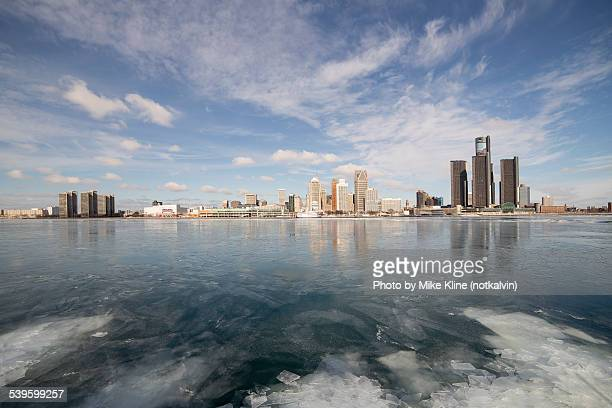 Wide view of Detroit