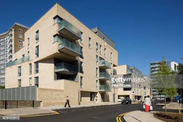 Wide view of housing scheme Hicks Bolton Bond Housing Scheme London United Kingdom Architect Rick Mather Architects 2015