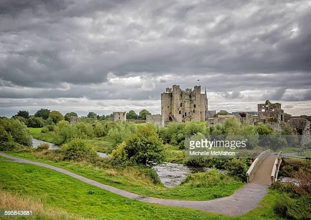 Wide view of Trim Castle