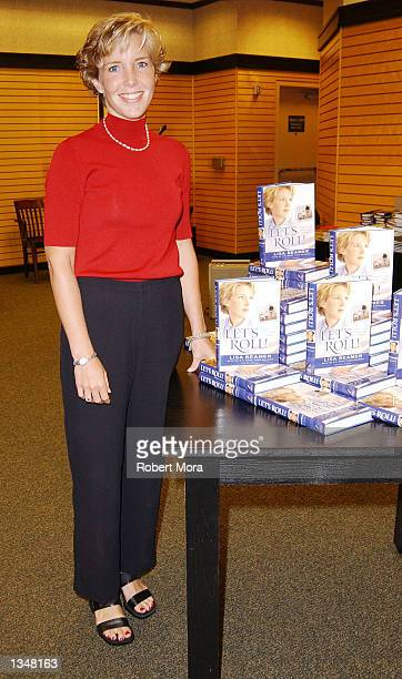 Widow Lisa Beamer poses for a photograph prior to signing copies of her new book Let's Roll Finding hope in the midst of crisis at Barnes Noble...