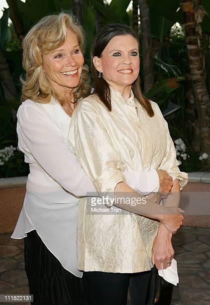 """Widow of Roy Scheider, Brenda Siemer-Scheider and Actress Ann Reinking arrive to """"A Tribute to Roy Scheider"""" held at The Beverly Hills Hotel on April..."""