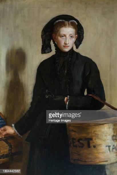 Widow's Mite, 1870. Artist John Everett Millais.