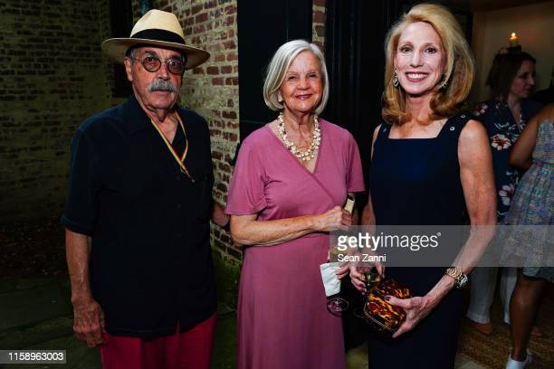 Wids DeLaCour Jean Henning and Susan Slater attend A Country House Gathering To Benefit Preservation Long Island on June 28 2019 in Locust Valley New...