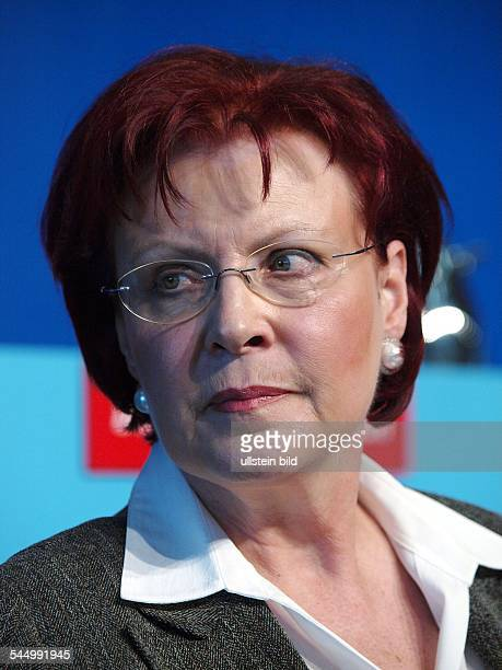 Wieczorek-Zeul, Heidemarie - Politician, Federal Minister for Foreign Aid, SPD, Germany
