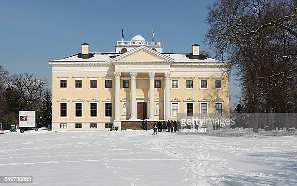 Wiedereröffnung Schloß Wörlitz im Wörlitzer Park nach der Sanierung
