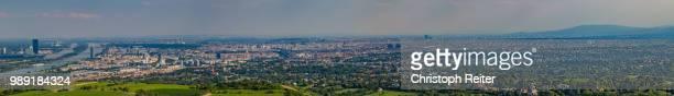 Wien Kahlenberg und Donau Pano
