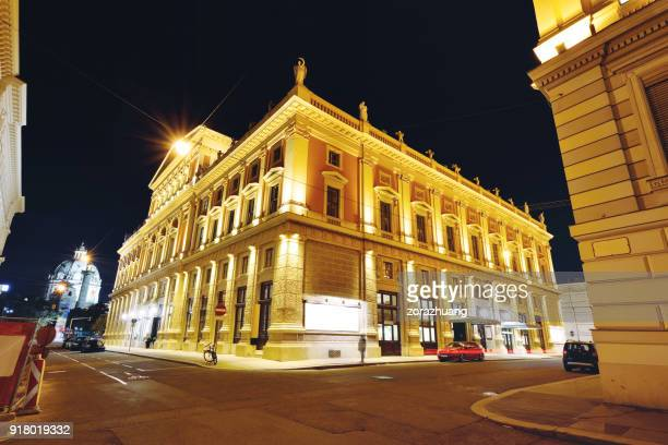 wiener musikverein, vienna, vienna - traditionally austrian stock pictures, royalty-free photos & images