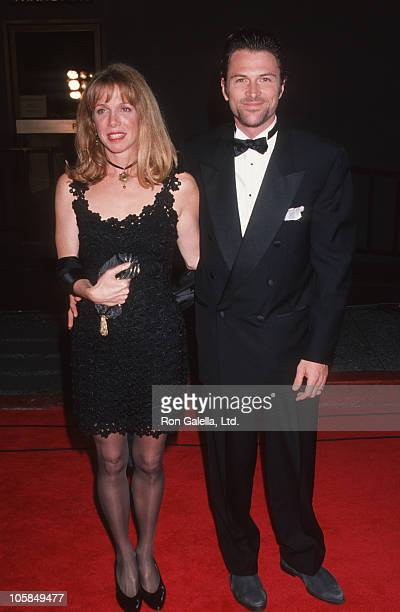 wife Amy Van Nostrand and Tim Daly during 19th Annual People's Choice Awards at Universal Studios in Universal City California United States
