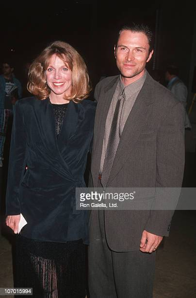 Wife Amy Van Nostrand and Tim Daly during 46th Annual Writers Guild of America Awards at Beverly Hilton Hotel in Beverly Hills California United...