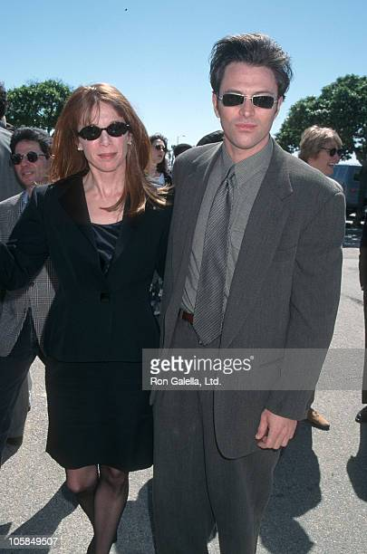 wife Amy Van Nostrand and Tim Daly during The 11th Annual IFP/West Independent Spirit Awards at Santa Monica Beach in Santa Monica California United...