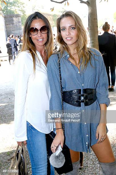 Wife and Daughter of Former Football player David Ginola Coraline Ginola and her Daughter Blogger of wwwcarlaginolacom Carla Ginola who wears her...