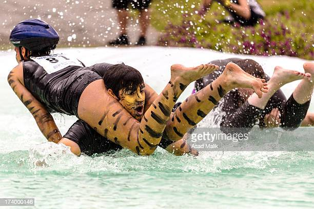 CONTENT] Wife carrying championship is a unique sports of its kind originated from Finland