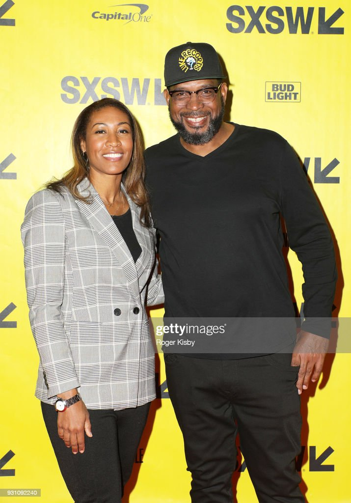 Wife Kristin Campbell and founder of the Warriors Football program Luther Campbell attend the Starz panel for 'Warriors of Liberty City' which had its world premiere screening at The Vimeo Theater on March 12, 2018 in Austin, Texas.