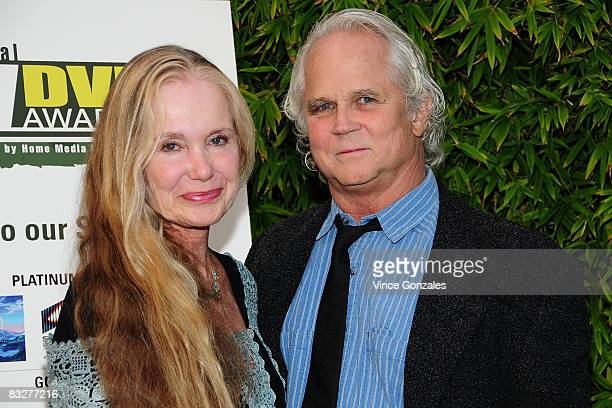 Wife Lauren Shulkind and actor Tony Dow attend The Fifth Annual TV DVD Awards Gala event Honoring Classic TV and the 50th Anniversary of The Donna...