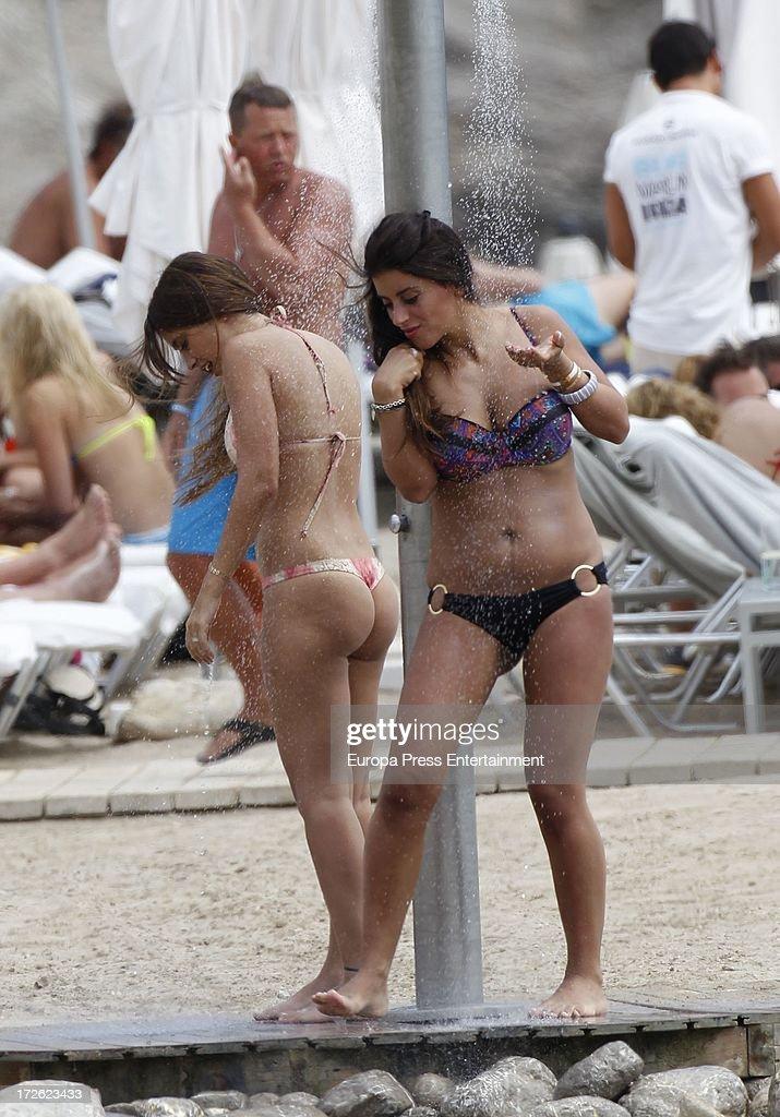 Cesc Fabregas And Daniella Semaan Sighting In Ibiza - July 04, 2013
