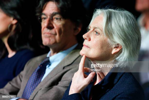Wife of former French Prime Minister and French presidential elections candidate for the rightwing Les Republicains political party Francois Fillon...