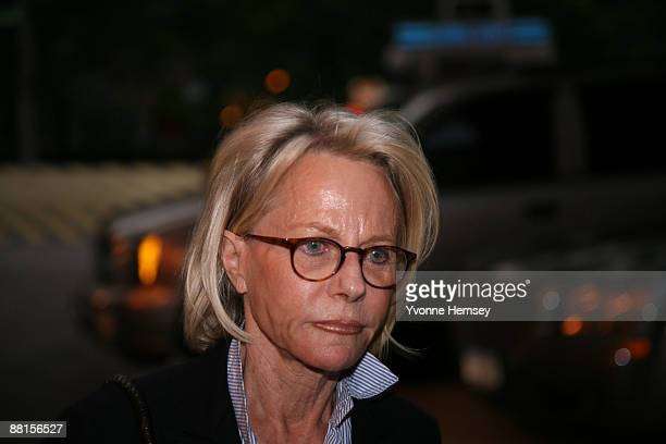 Wife of fraudulent financier Bernard Madoff Ruth Madoff leaves the Metropolitan Correctional Center after visiting her husband in prison June 1 2009...