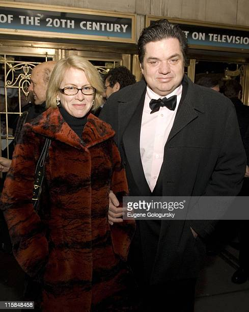 Wife of Oliver Platt Oliver Platt at The Broadway Opening Night of The Farnsworth Invention in New York City on December 3 2007 in New York